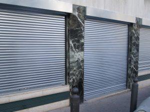 grille métallique electrique