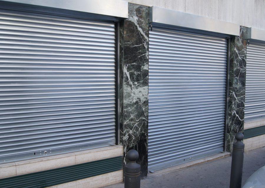 Les pannes fréquentes d'un rideau métallique